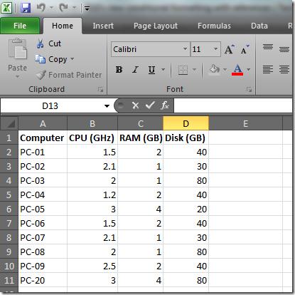 How To – Filtering Multiple Column Data & Row Highlighting Based on