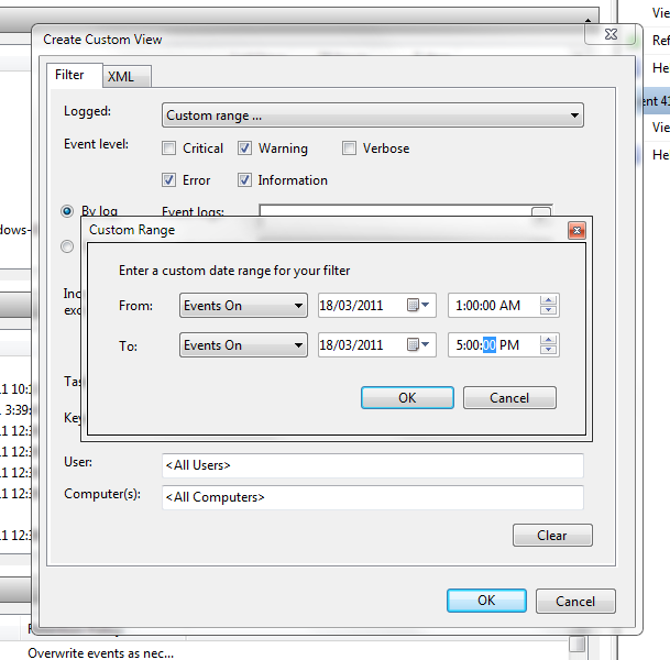 View Error Log Windows 7: Case Of The Missing Desktop Shortcut Icons