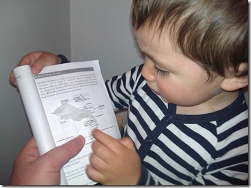 My son explaining heap diagram in his own language