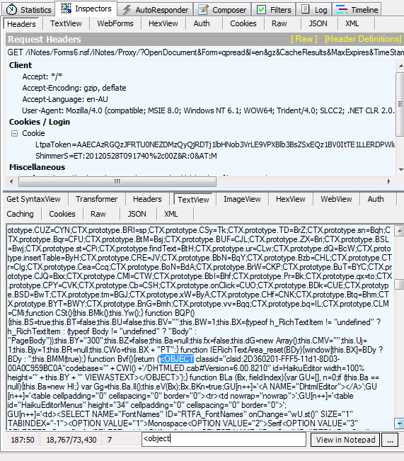 Case of the Missing ActiveX Control (DHTML Edit Control