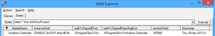 Accessing Windows Security Centre Status from PowerShell