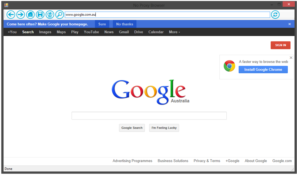PacDbg + Custom Proxy Browser + Set Proxy Cmd Line Tool